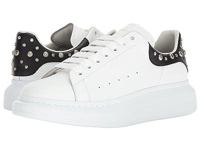 Alexander McQueen Double Sole Studded Sneaker (White) Men