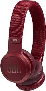JBL Audífonos On Ear Live 400BT Bluetooth - Rojo