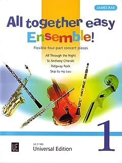 All Together Easy Ensemble! Volume 1: Flexible 4-Part Concert Pieces