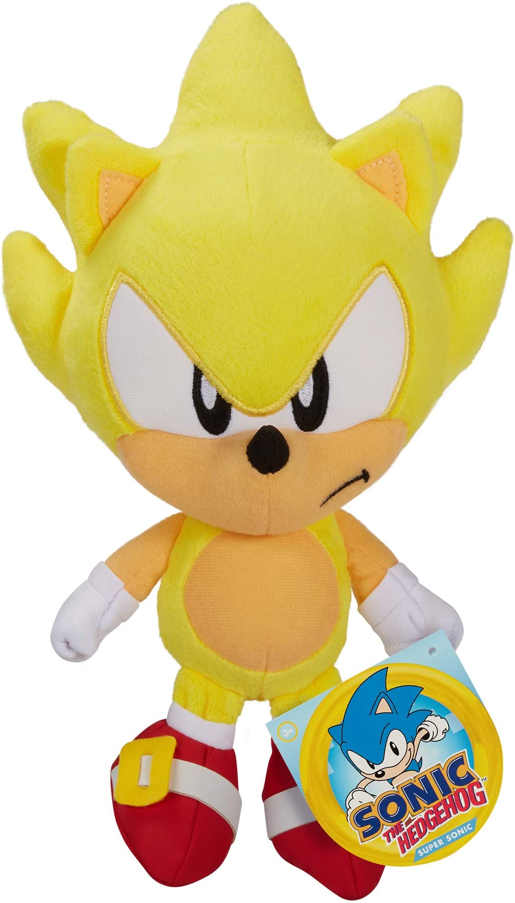 New With Tags Sonic The Hedgehog MIGHTY Plush Jakks Stuffed Toy