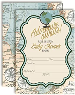 Best world map invitations Reviews