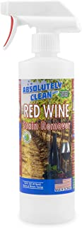 Amazing RED Wine Stain Remover (USA Made): Best Stain Remover for Red Wine Stains – Natural Enzymes Clean Even The Toughest Red Wine Stains, Works on Clothes, Furniture, Carpet & Even Leather