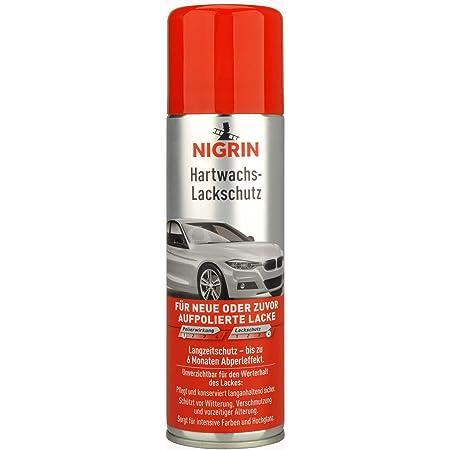 Nigrin 20444 Hartwachs Lackschutz Autowachs I Wachs Für Auto I Lackversiegelung I 300 Ml Auto