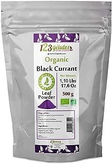 Black-Currant Organic Leaf Powder 1.10 Lbs - 500 grams -17.6 Oz