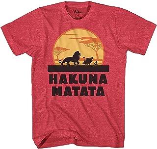 Lion King Hakuna Matata Pumbaa Timon Africa Simba Mufasa Disneyland World Tee Adult Graphic T-Shirt Apparel