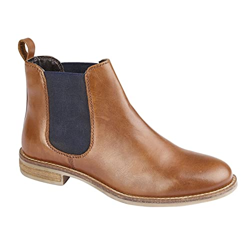 98cb66edb28e Cipriata Ladies Womens Leather Slip On Twin Gusset Smart Chelsea Ankle  Boots Shoes Size