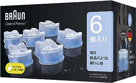 ブラウン アルコール洗浄液 (6個入) メンズシェーバー用 CCR6 CR【正規品】