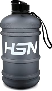 HSN 2.2L Water Bottle For Training - Matte Black   BPA Free   Large Capacity Water Jug   Ideal for indoor and outdoor work...