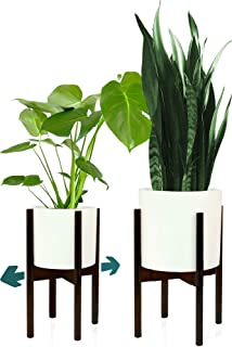 Fox & Fern Plant Stand for Indoor - Adjustable Width 8