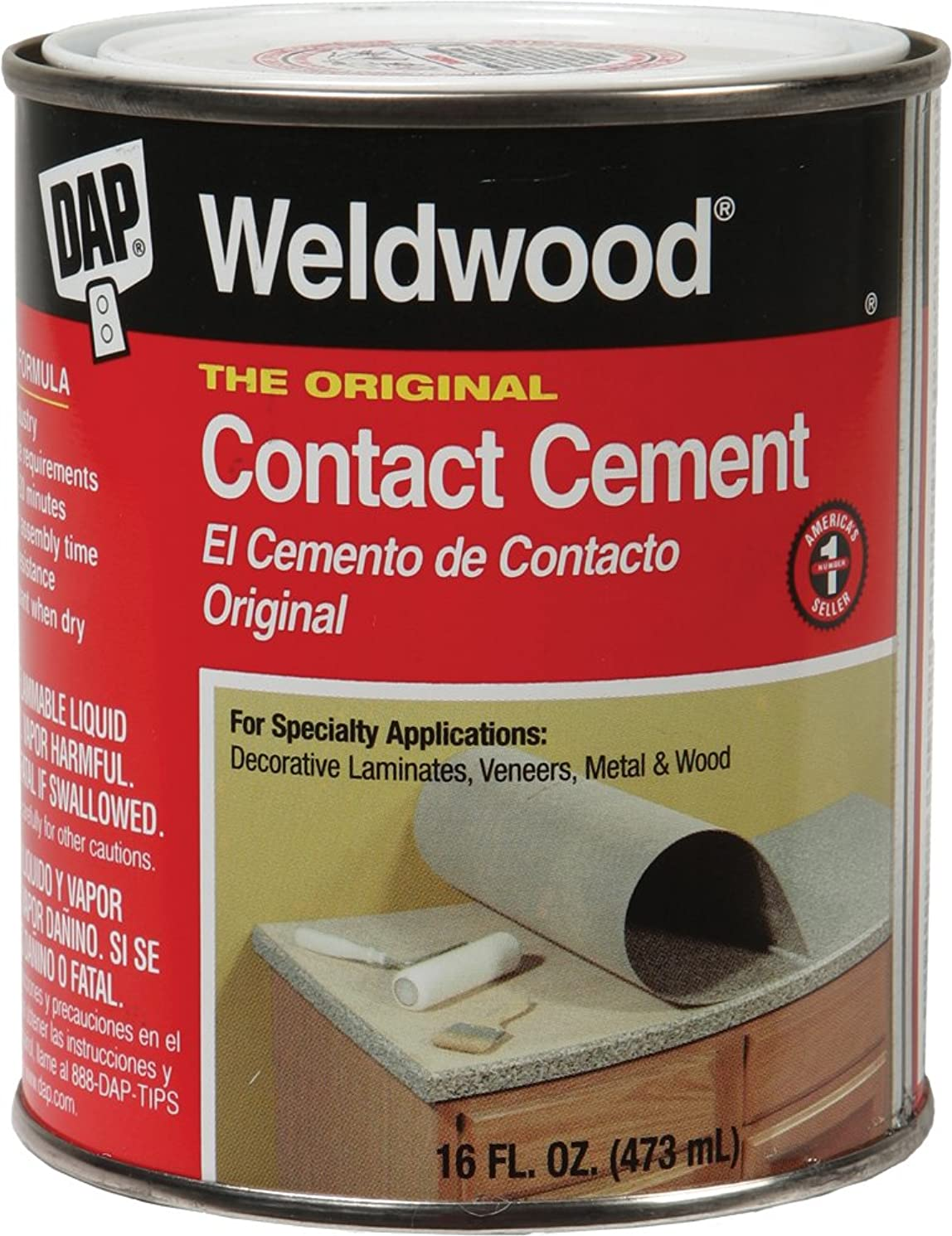 Hydro-Turf Cc20 Hydro Turf Contact Cement 16 Oz. Dap Weldwood