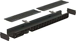 Standartpark - 4 inch trench drain cast iron package slotted - 3.2