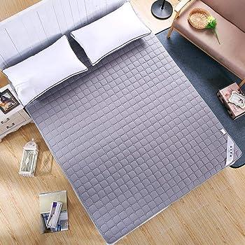 Amazon De Starter Futon Faltbare Matratze Bio Baumwolle Memory Matratze Mit Gepolsterten Schaum