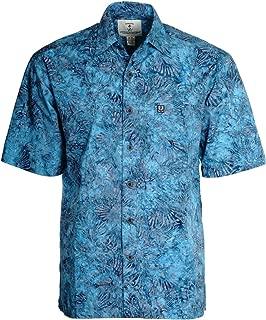 Men's Cajuns Paradise Batik Cotton Hawaiian Shirt