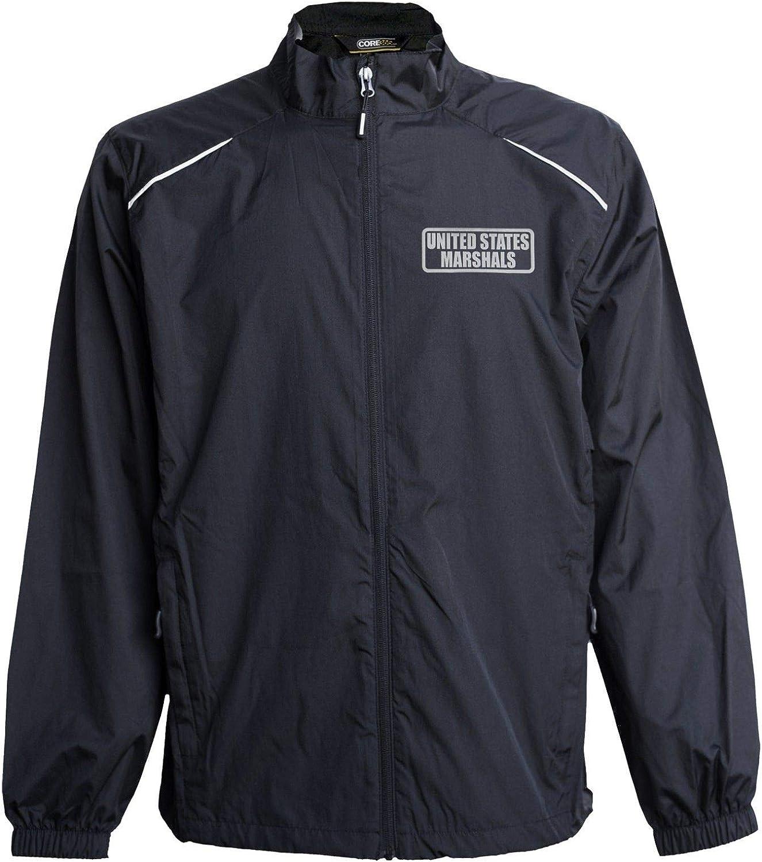 US Marshals Jacket, Windbreaker, Reflective Design, United States Marshals