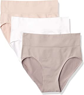 Hanes Ultimate Women's Smoothing Seamless Brief 3-Pack