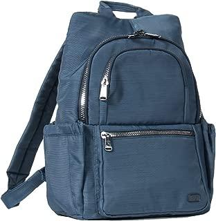 Lug Hatchback Mini Backpack, Brushed Blue