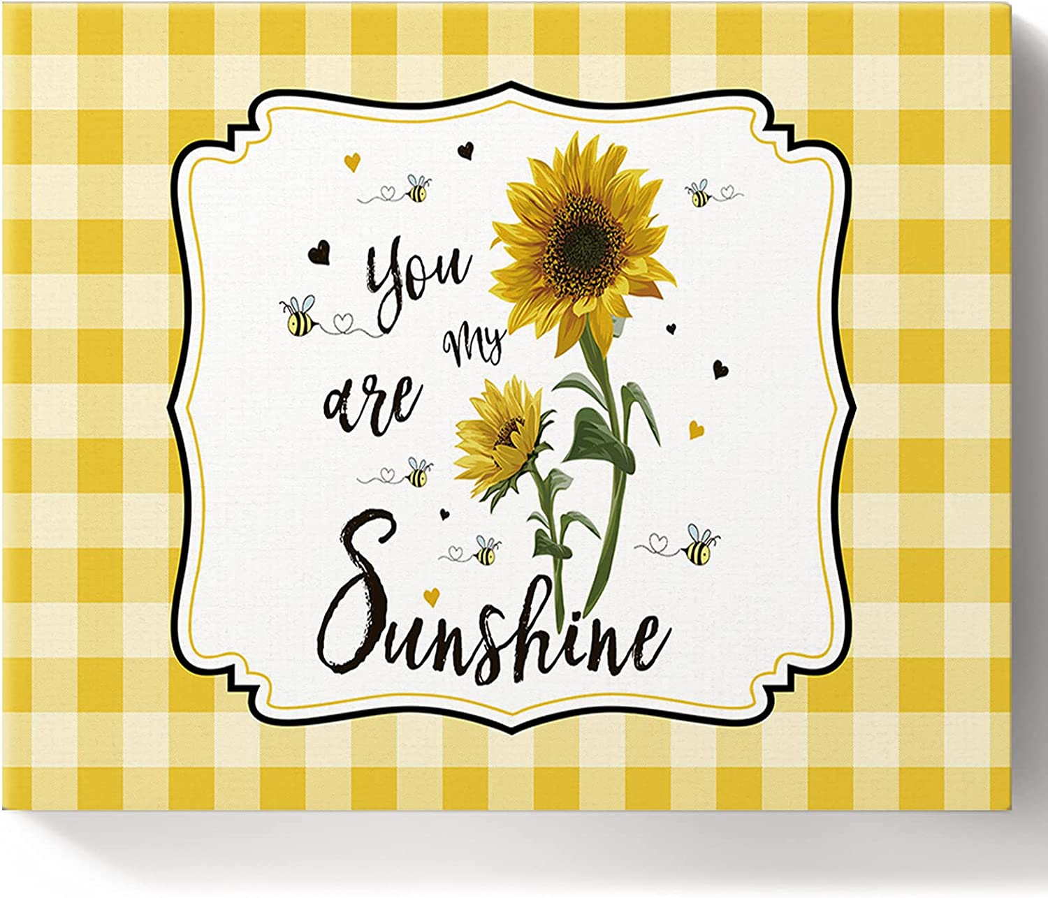 Savannan Clearance SALE Oakland Mall Limited time DIY Paint by Numbers Summer Sunflower My Bee Farmhouse