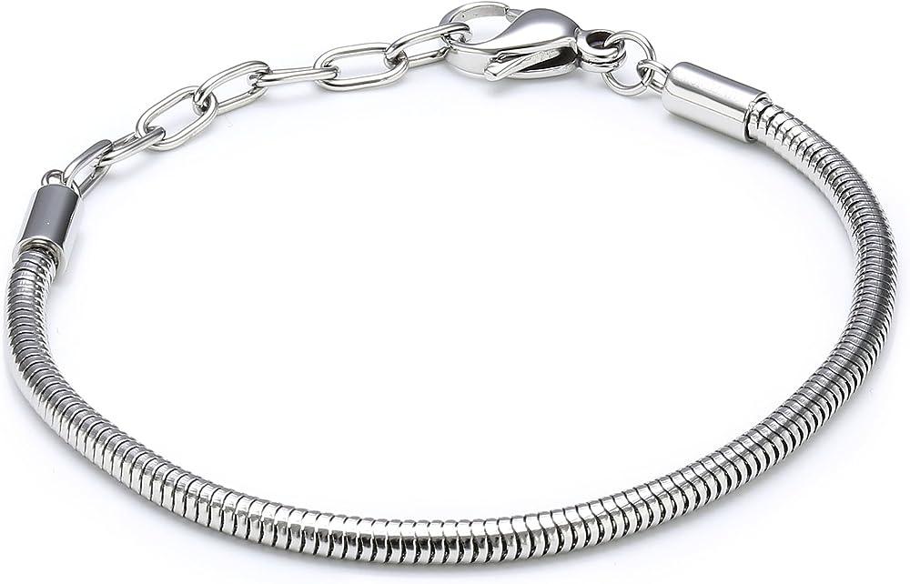Morellato, bracciale da donna, in acciaio inossidabile SCZ136