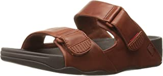 FitFlop Men's Gogh Moc Slide Adjustable Flip Flop