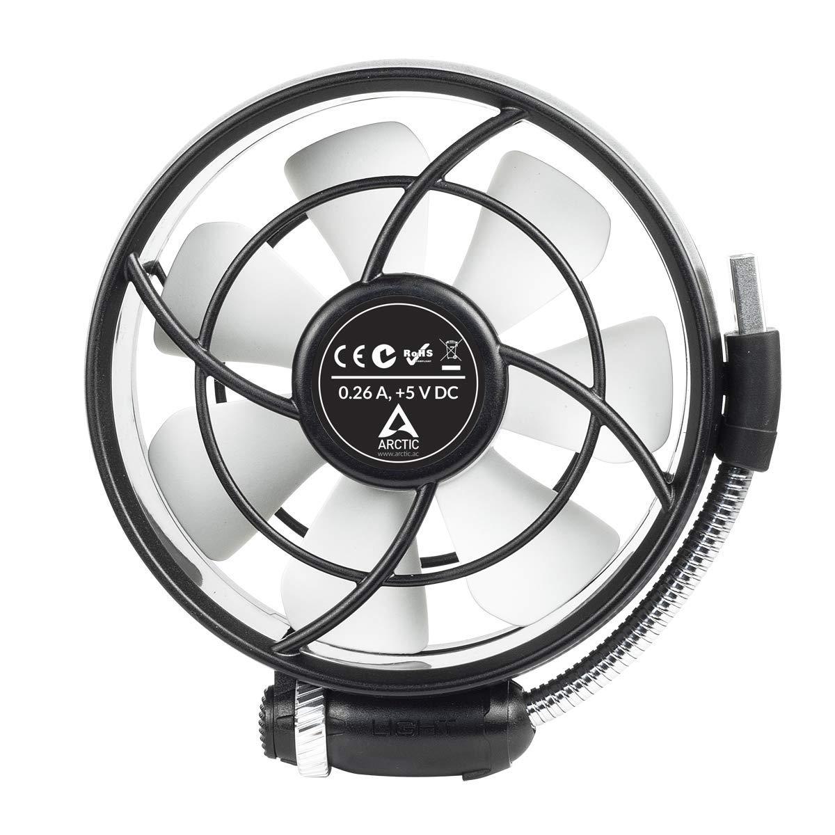 ARCTIC Summair Light - Ventilador USB Portátil para Escritorio ...