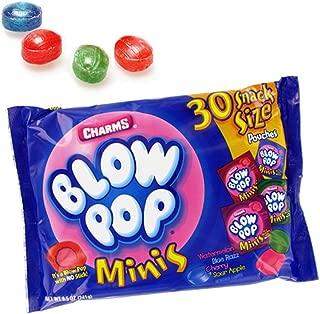 Blow Pop Minis Snack Size Pouches, Bag of 30, 8.5 oz