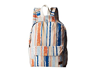 Roxy Sugar Baby Canvas Backpack (Bright White River) Backpack Bags