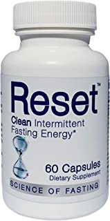 New! RESET Optimized Fasting Hydration and Energy. High Grade Electrolytes, B-Complex Vitamins, Green Tea Leaf Extract, Gr...