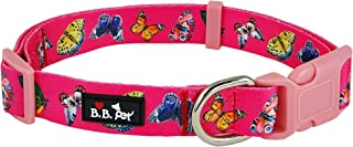 Bestbuddy Pet Durable Nylon Designer Spring Blossom Trendy Comfortable Adjustable Dog Collar with Buckle BBP-TG1