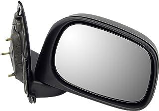 Dorman 955-1374 Passenger Side Manual Door Mirror - Folding for Select Dodge Models, Black