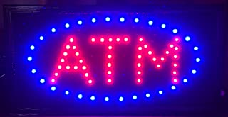 E Onsale ATM LED Neon Light Open Sign With Animation On/off and Power On/Off two Switchs for Business ATM L86