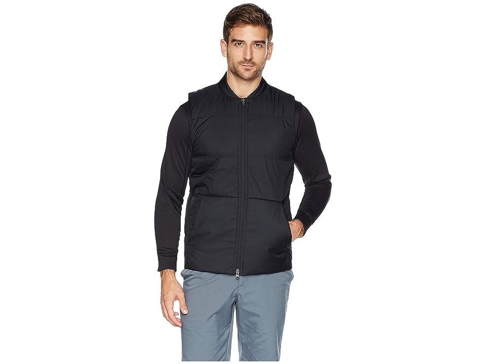 Nike Golf Synthetic Fill Vest Core (Black/Black/Black) Men