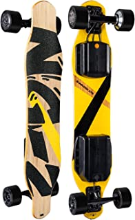 """SWAGSKATE NG2 A.I.-Powered Electric Longboard with Hands-Free Control & 900W Dual-Hub Brushless Motor 