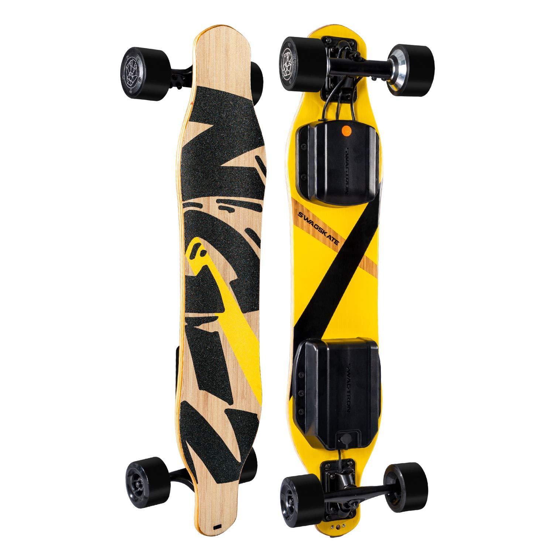 SWAGSKATE I Powered Longboard Hands Free Skateboard