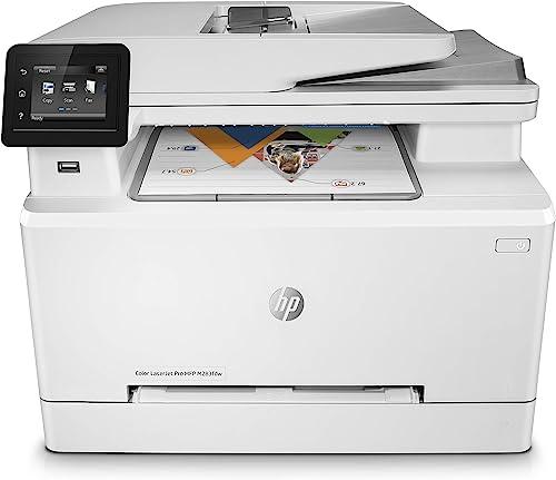 HP Color Laserjet Pro MFP M283fdw Blanc 21 Pages/Min