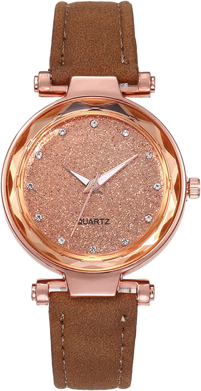 Kingsir Watches List price for Women Crystal Starry Sky Inventory cleanup selling sale Quartz Diamo Watch-