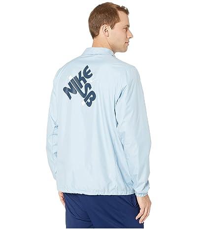 Nike SB Coaches Jacket (Light Armory Blue/Midnight Navy) Men