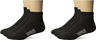 Mens Sport Full Cushion Quarter Socks 6 Pair Pack