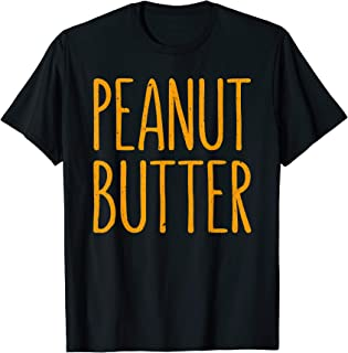 Peanut Butter T-Shirt Matching Halloween Costume T-Shirt