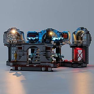 Upgraded Version Light Kit for Death Star Final Duel Building Blocks Model, LED Light kit Compatible with Lego 75291 (Not ...