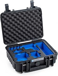 B&W Outdoor Case Hartschalenkoffer Typ 1000, Inlay für: GoPro Hero 5 / 6 / 7 und Zubehör (Hardcase Koffer IP67, wasserdicht, Innenmaß 25x17,5x9,5cm, Schwarz)