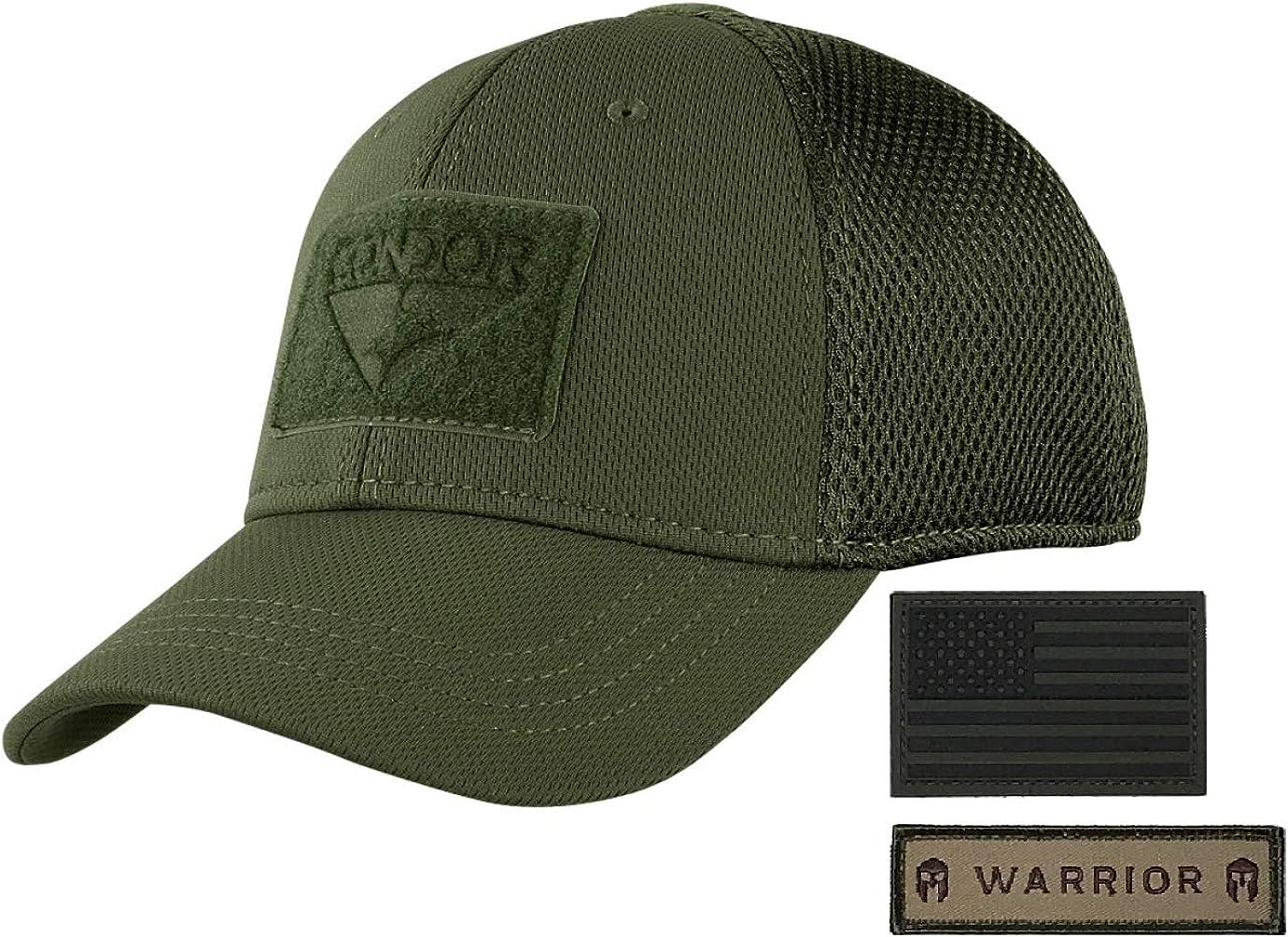 Condor Flex Mesh Cap OD Free shipping on posting reviews Green Wa Flag with Bundled Max 61% OFF Armorbilt