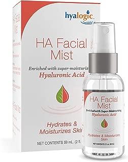 Hyaluronic Acid Facial Mist—Moisturizer Spray, Hydrating Primer & Makeup Setting Spray – 2 oz. - Hyalogic Episilk Brand
