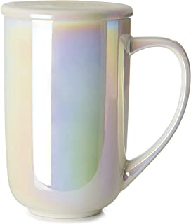 DAVIDsTEA Opalescent Nordic Mug with Handle and Lid, Extra Large Cup, Keeps Drinks Hot or Cold, Perfect for Tea Lattes, 16...