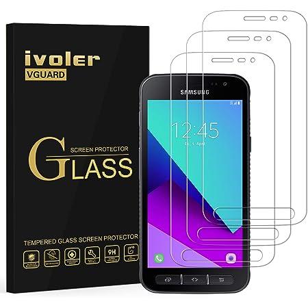 ivoler [3 Unidades] Protector de Pantalla para Samsung Galaxy Xcover 4S / Samsung Galaxy Xcover 4, Cristal Vidrio Templado Premium [Dureza 9H] [Anti-Arañazos] [Sin Burbujas]