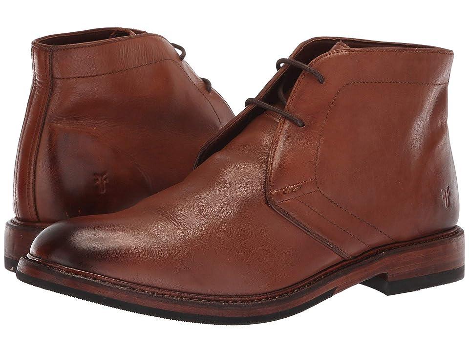 Frye Murray Chukka (Cognac Washed Dip-Dye Leather) Men