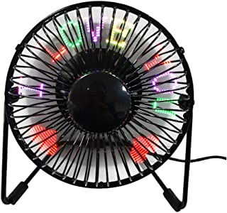 led custom message fan