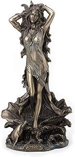 Veronese Design 11.5 Inch Aphrodite Rising from The Sea Greek Roman Goddess Antique Bronze Finish Statue