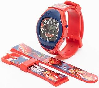 Disney Cars Boys Digital Dial with Extra Strap Wristwatch - CS36292 Cars