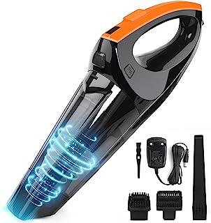 comprar comparacion VACPOWER Aspiradora de Mano,6500pA Aspirador de Mano Sin Cable con BateríA Recargable de 2500mAh y Filtro Hepa Mejorado pa...