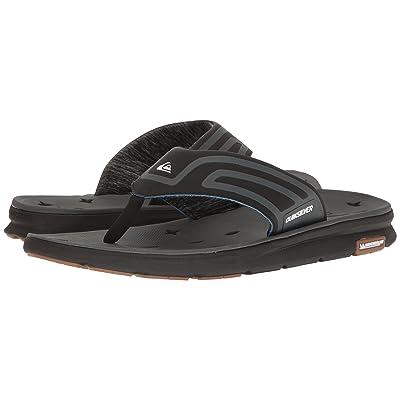 Quiksilver Amphibian Plus Sandal (Black/Black/Grey 2) Men